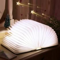 歐風創意木質LED摺疊書燈((預購7-14天))
