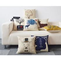 北歐系列沙發枕 /棉麻靠枕((預購7-14天))