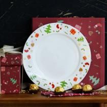 高骨瓷限定款餐具盤禮盒((預購7-14天))